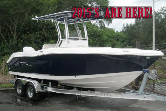 Robalo Fishing Boats At Dealer's Choice Marine Orlando Florida