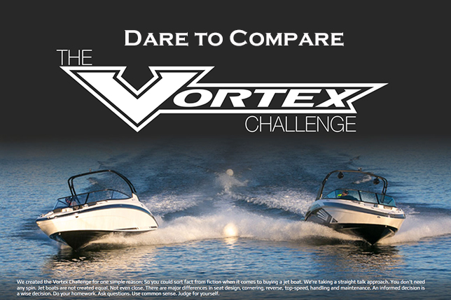 Dare to Compare - Vortex Jet Boats Challenge
