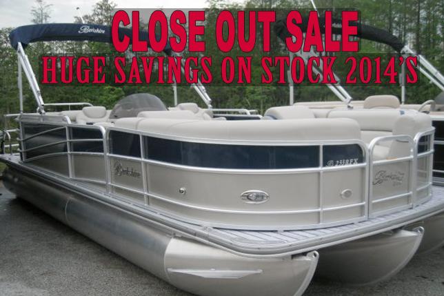 Berkshire Pontoons on sale At Dealer's Choice Marine Orlando Florida