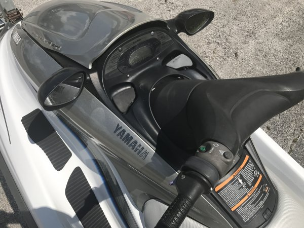 Stand-up PWC are a type of personal watercraft. They (usually) have a pivoting handlepole and standing tray area that requires the operator to stand while riding instead of sitting. This is in contrast to the more frequently seen