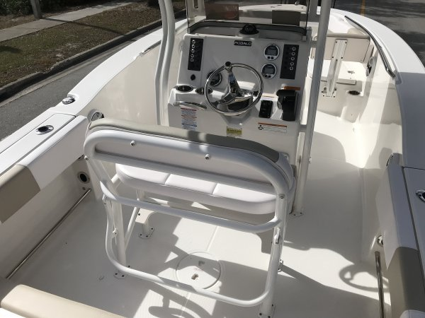 Any boat specifically designed for fishing in salt water.