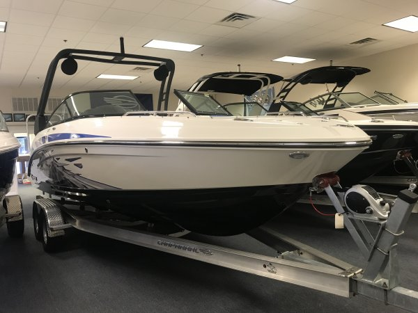 A 2430 VRX Jet Boat is a Power and could be classed as a Bowrider, Dual Console, Freshwater Fishing, High Performance, Jet Boat, Sedan, Ski Boat, Wakeboard Boat, Runabout,  or, just an overall Great Boat!