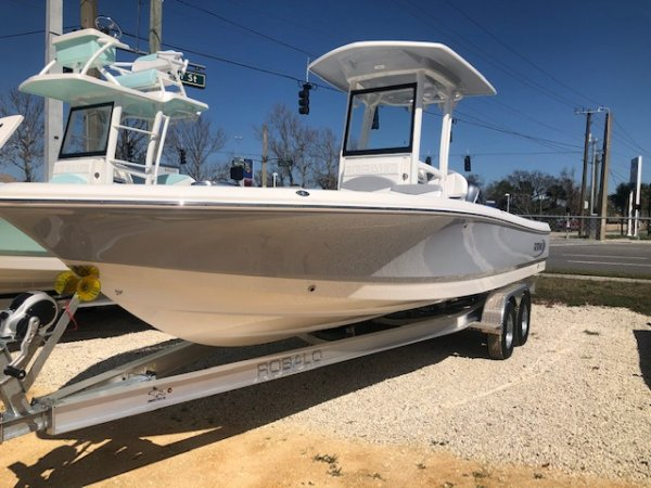 A 246 Cayman Bay Boat is a Power and could be classed as a Bay Boat, Center Console, Fish and Ski, Flats Boat, Freshwater Fishing, High Performance, Saltwater Fishing, Runabout,  or, just an overall Great Boat!