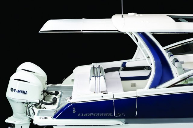 A cabin cruiser is a type of boat that provides accommodation for its crew and passengers. These craft can be equipped with a head (toilet), a galley, and at least one berth. Some have an aft cabin (a cabin to the rear of the cockpit, with a double bed).