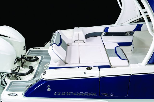 A Motoryacht is a larger craft where the helm area is closed in and forward enough to allow for a larger aft cabin.