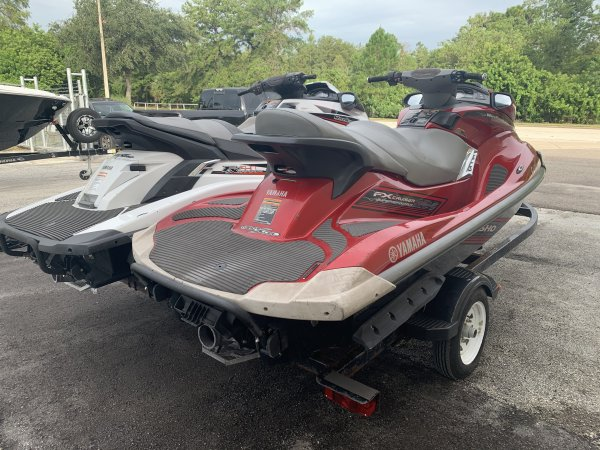 A 2009/2014 Pair of FXSHO Jet Skis with Trailer is a PWC and could be classed as a Two Person,  or, just an overall Great Boat!
